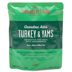 Grandma Ada's Turkey & Yams Homestyle Human-Grade Dog Food
