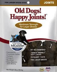 Old Dogs! Happy Joints! Large Breed Maximum Strength Dog Treats, 16-oz bag