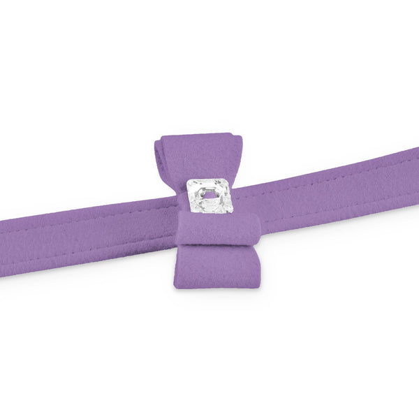 big bow leash ultraviolet