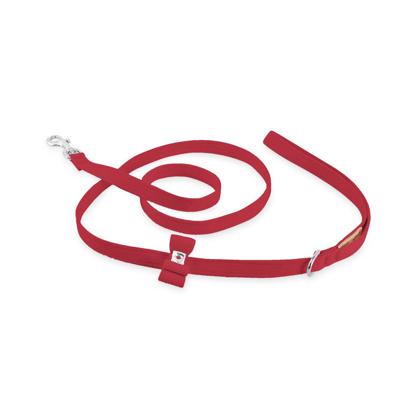big bow leash red