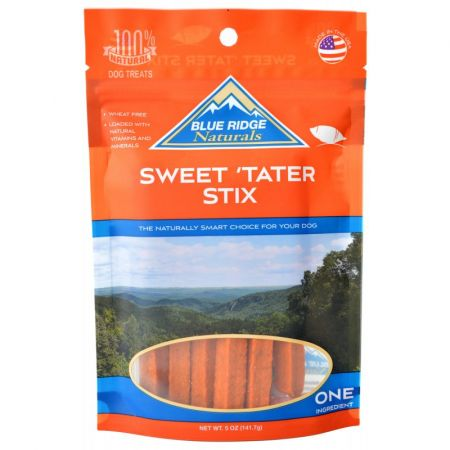 Dog Treats Blue Ridge Sweet Tater Stix 100% Natural