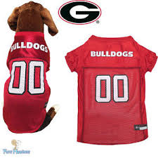 Georgia Bulldogs Dog Jersey NCAA