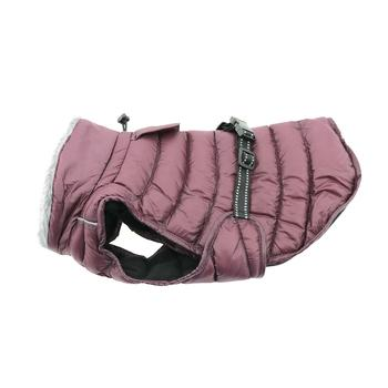 Dog Coat Burgundy Alpine Cold Puffer