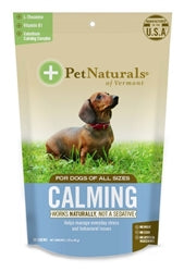Pet Naturals of Vermont Travel Calming Dog Chews 30 Count
