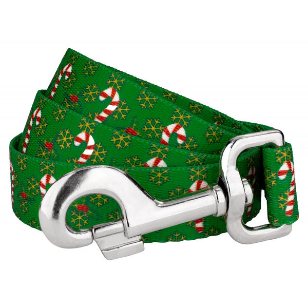 Dog Leash Christmas Winter Holiday Candy Cane