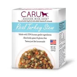 Caru Real Turkey Stew Human-Grade Puppy & Dog Food 12.5 oz