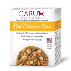 Caru Real Chicken Stew Human-Grade Puppy & Dog Food 12.5 oz