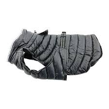 Dog Coat Black Alpine Puffer All-Weather