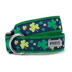 Dog Collar Saint Patrick's Day Green Clovers