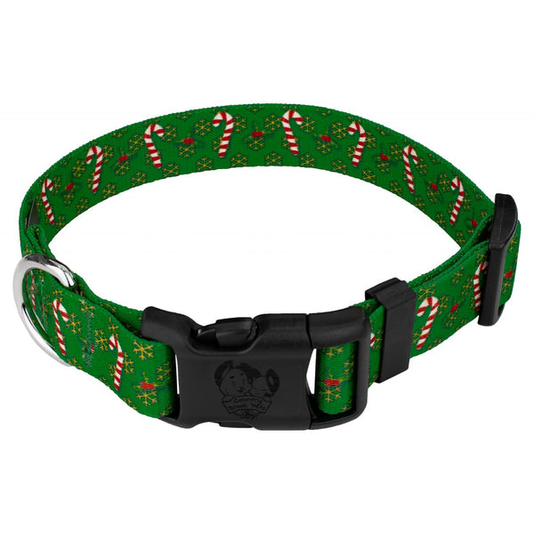 Dog Collar Christmas Winter Holiday Candy Cane