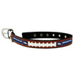 Dog Collar Denver Broncos Leather Small-Large