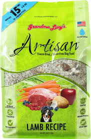 Grandma Lucy's Artisan Grain Free Freeze Dried Lamb Dog Food 3-lb.