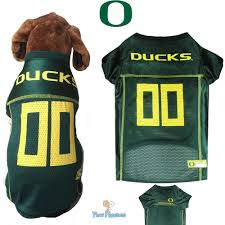 Oregon Ducks Dog Jersey NCAA