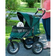 Pet Gear No-Zip Dog Stroller Jogger