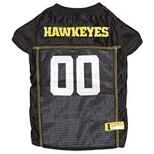 University of Iowa Hawkeyes Dog Jersey NCAA