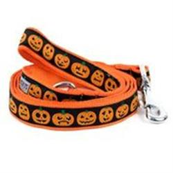 Dog Leash Halloween Holiday Jack 'O Lantern