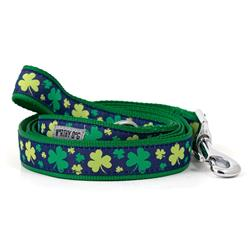 Dog Leash Saint Patrick's Day Green Clovers