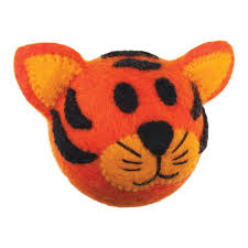 Dog Toy Safari Tiger Ball