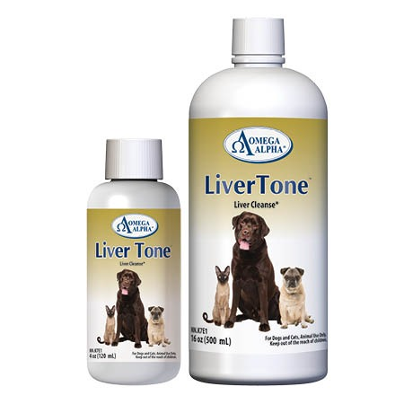Dog Supplement Liver Tone Detox by Omega Alpha