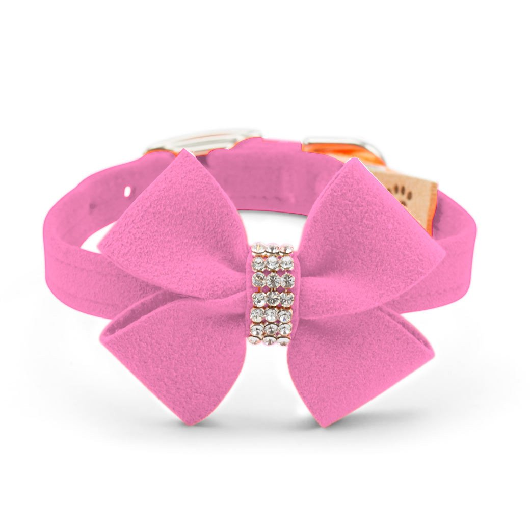 Nouveau Bow Collar perfect pink