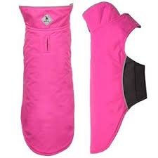 Dog Coat Fuchsia Pink Nylon Fleece