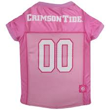 Alabama Crimson Tide Pink Dog Jersey NCAA
