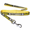 Dog Leash Pittsburgh Steelers Black Yellow Small