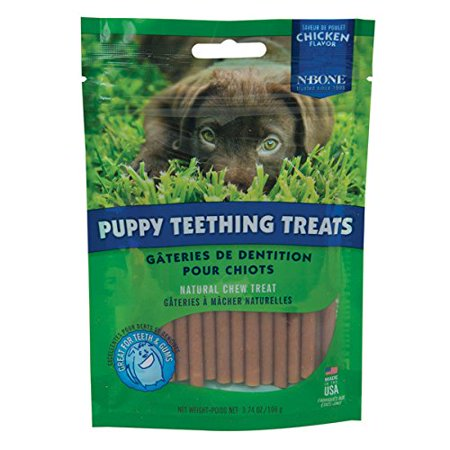 N-Bone Puppy Teething Treats Chicken Flavor
