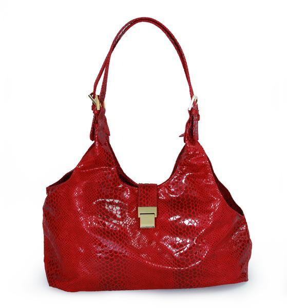 Luxury Dog Carrier Red Venetian Purse by Hello Doggie
