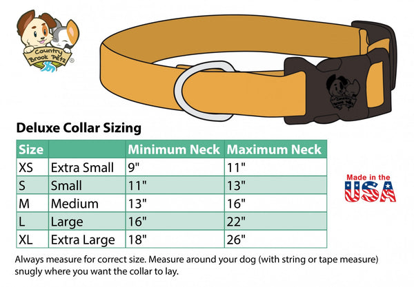 Dog Collar American Flag Patriot USA
