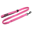 Dog Leash Soft Pull Stretch Pink