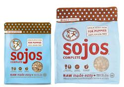 Sojos Complete Turkey & Salmon Puppy Recipe Grain-Free Freeze-Dried Raw Dog Food