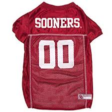 Oklahoma Sooners Dog Jersey NCAA