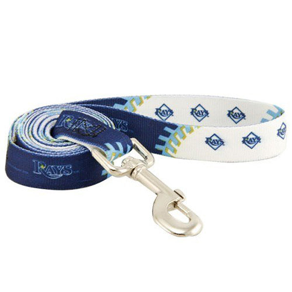 Dog Leash Tampa Bay Rays Baseball MLB Blue Small