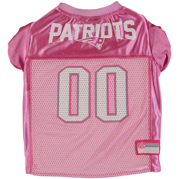 New England Patriots Pink Dog Jersey NFL