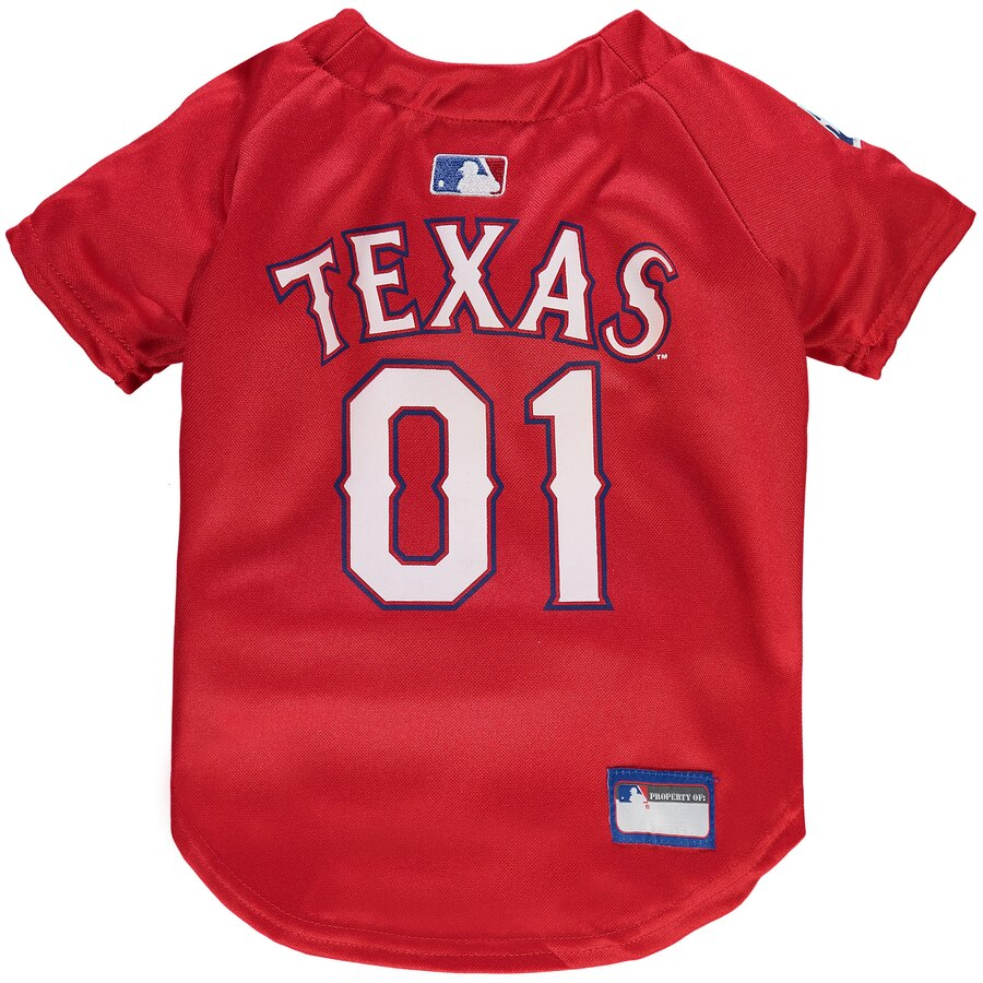 Texas Rangers Dog Jersey MLB
