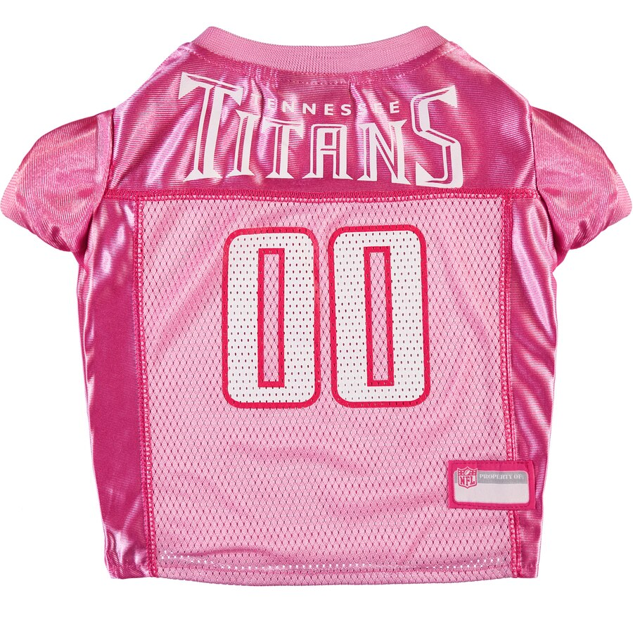 Tennessee Titans Pink Dog Jersey NFL