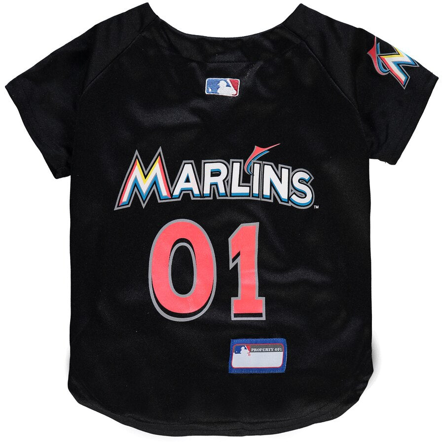 Miami Marlins Dog Jersey MLB