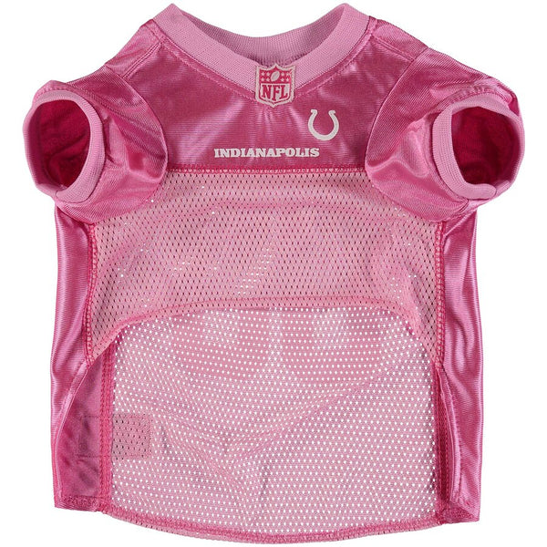 Indianapolis Colts Pink Dog Jersey NFL