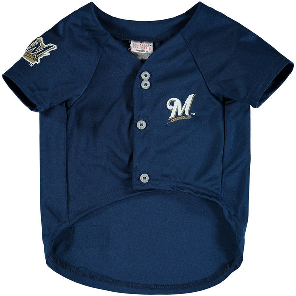Milwaukee Brewers Dog Jersey MLB