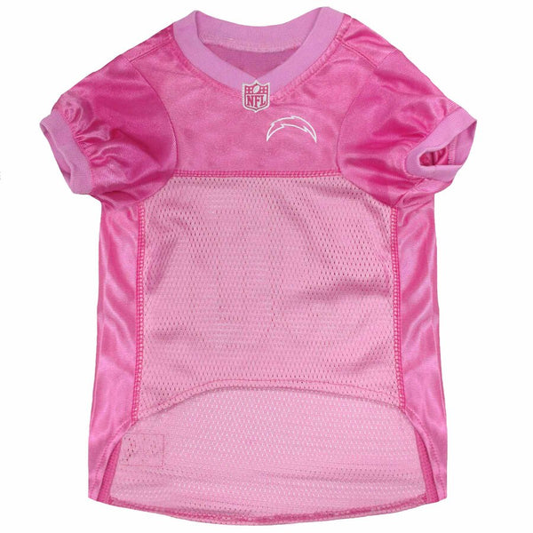 Los Angeles Chargers Pink Dog Jersey NFL