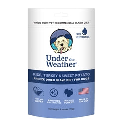 Under the Weather Turkey, Rice & Sweet Potato Electrolytes Dog Food