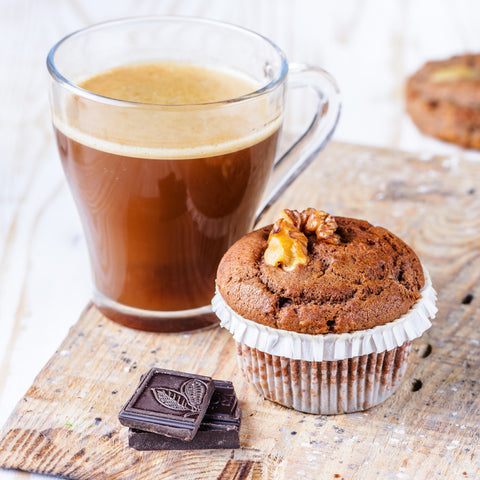 KetoUp Low Carb Muffin mit Bulletproof-Coffee