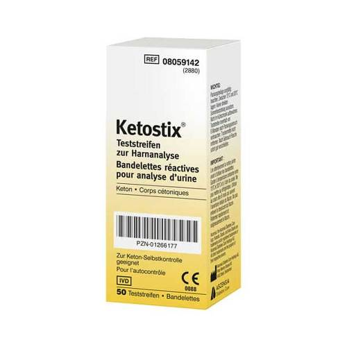 Ketostix test strips 50 pieces (€ 0,20 / piece) - KetoUp online shop
