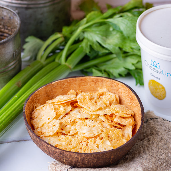 CheeseUp 80g (7,49 € / 100g) for the keto diet and ketogenic diet