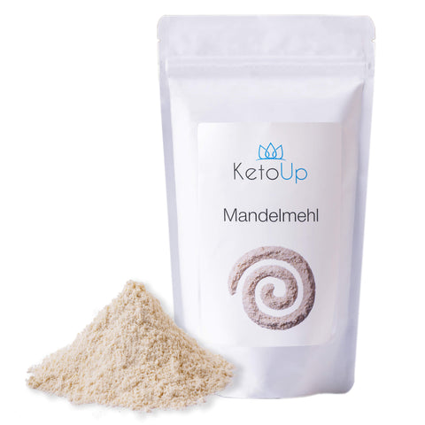 KetoUp almond flour white, partially de-oiled 250g (€ 3,96 / 100g)