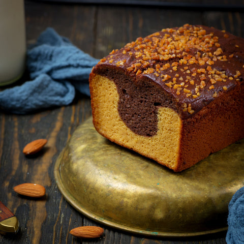 KetoUp Lower Carb Marble Cake 420g (3,09 € / 100g)