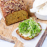 KetoUp Lower Carb Carrot Bread 550g (1,34 € / 100g) for the keto diet and ketogenic diet