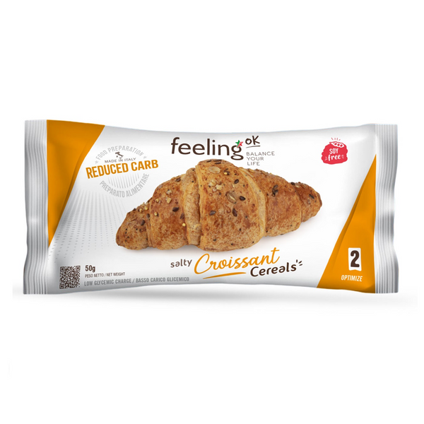 FeelingOK grainy croissant lightly salted Optimize 2 50g (5,98 € / 100g)