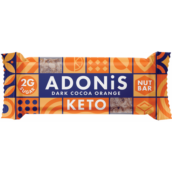 Adonis Low Sugar Nussriegel Dark Cocoa & Orange <span>35g (7,11€/100g)</span>